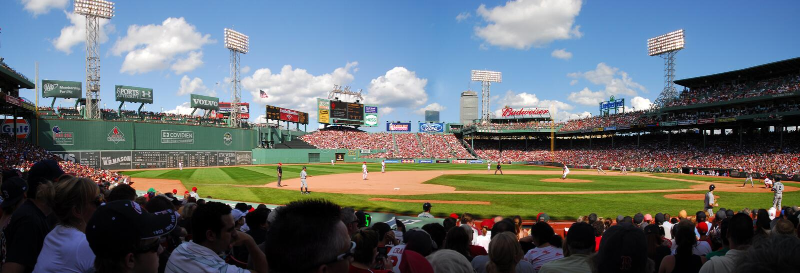 Download Fenway Park, Panorama editorial photo. Image of griffey - 10069871
