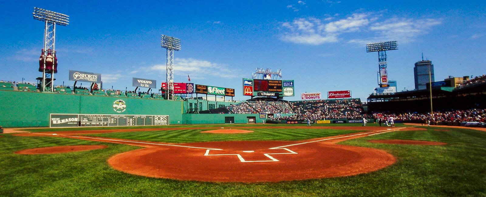 Fenway Park Panoramic View Editorial Stock Image Image Of