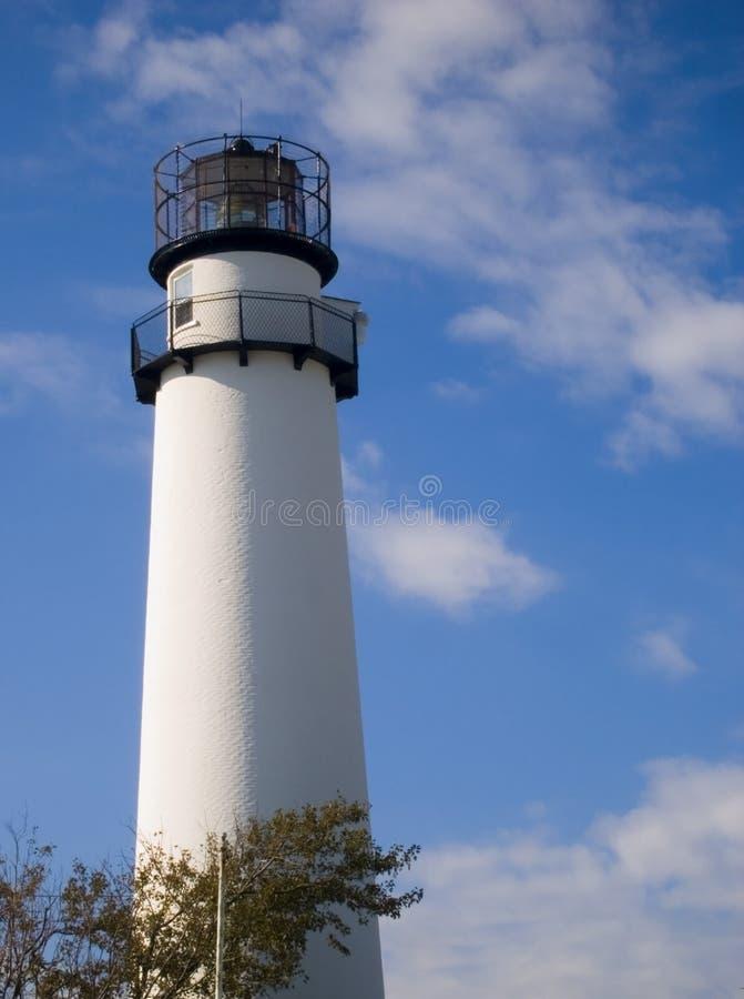 fenwick海岛灯塔 免版税库存照片