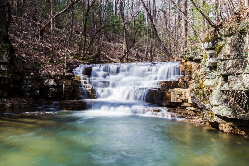 Fenwick gewinnt Wasserfall stockbild