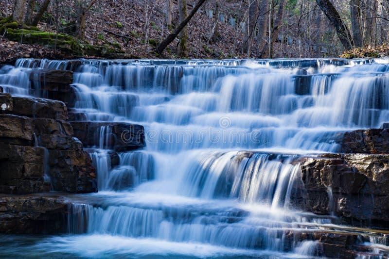 Fenwick mina a cachoeira - 2 imagens de stock royalty free