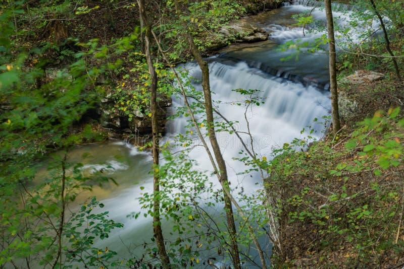 Fenwick mina a cachoeira fotografia de stock royalty free