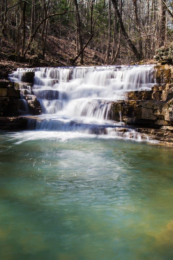 Fenwick mina a cachoeira imagens de stock royalty free