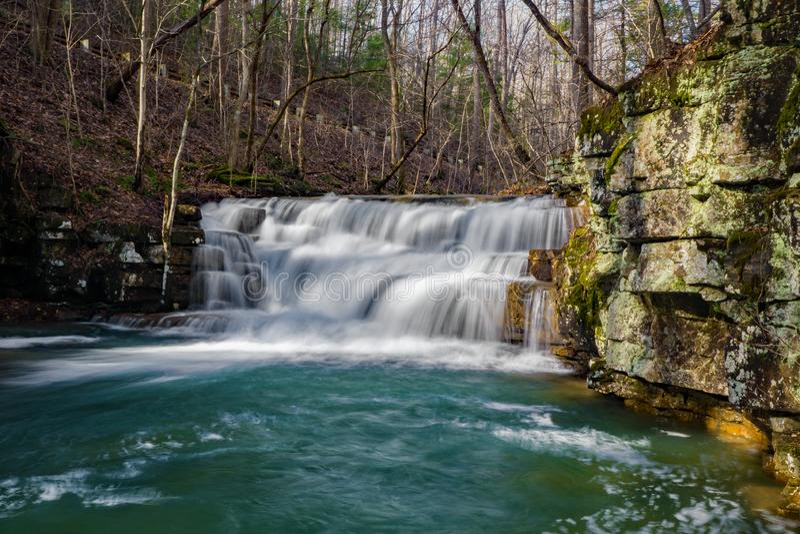 Fenwick mina cachoeiras imagens de stock