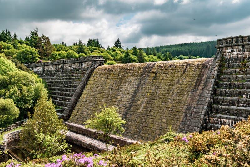 Fenworthdam in Dartmoor royalty-vrije stock afbeeldingen
