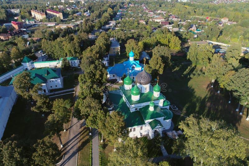 Feodorovsky kobiet monaster w Pereslavl-Zalessky mieście, Yaroslavl region, Rosja zdjęcie royalty free