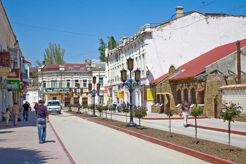 Download Feodosia, paisaje urbano imagen de archivo editorial. Imagen de urbano - 44852599
