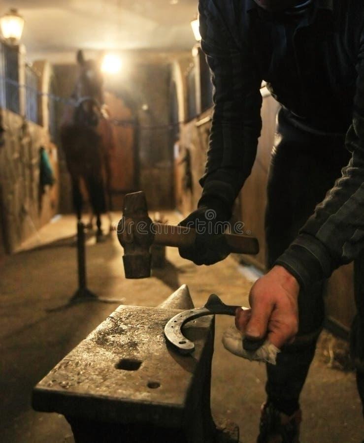 Fer à cheval photo libre de droits