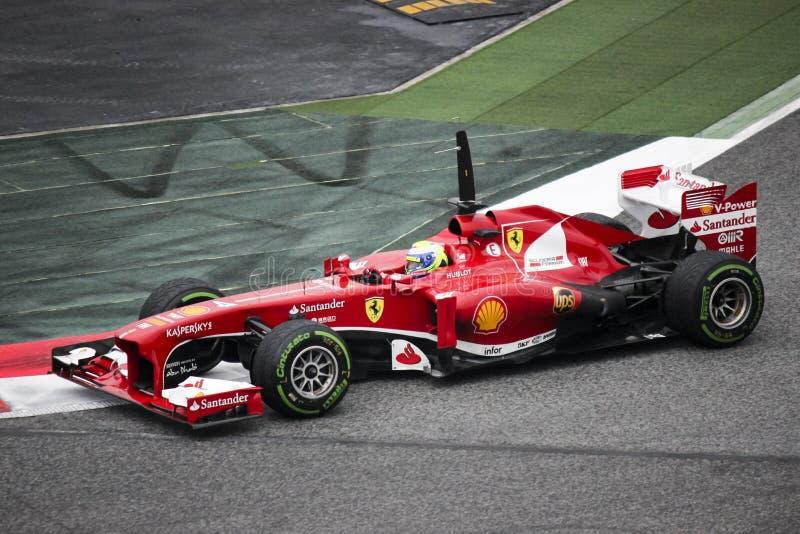 Feraari-Formel 1 lizenzfreies stockfoto