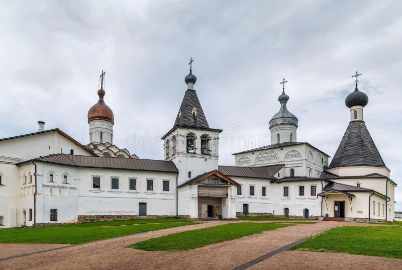 Ferapontov kloster, Ryssland royaltyfria foton