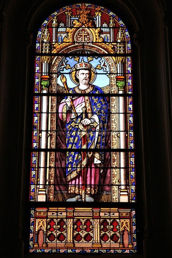 Ferdinand Άγιος στοκ εικόνα με δικαίωμα ελεύθερης χρήσης