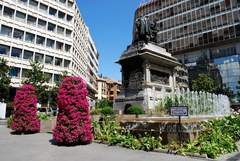 Ferdinand και μνημείο της Isabella, Γρανάδα στοκ εικόνα με δικαίωμα ελεύθερης χρήσης