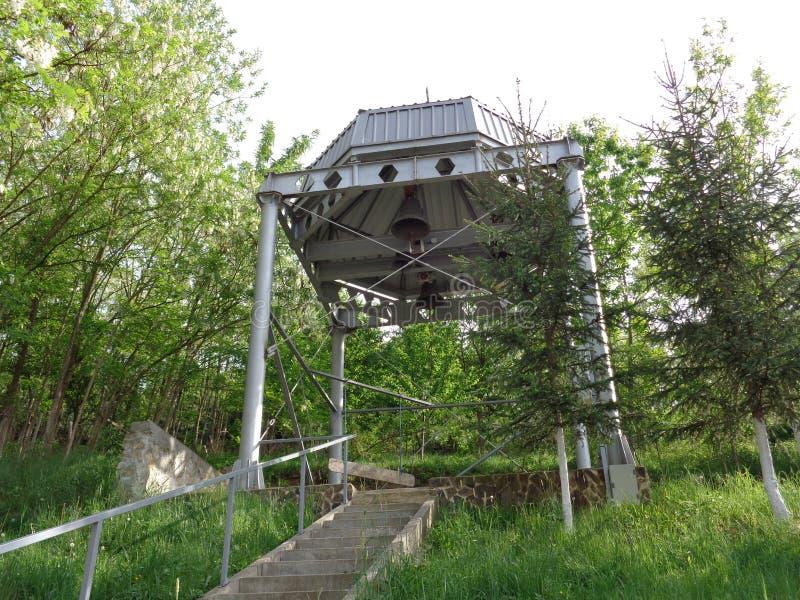 Feredeu-Kloster hinterhof Arad County, Rumänien lizenzfreies stockbild