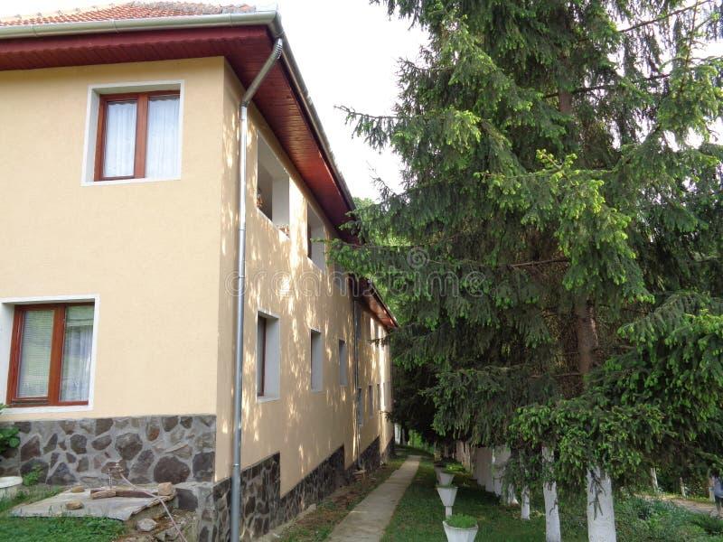 Feredeu monaster Arad okręg administracyjny, Rumunia zdjęcie stock
