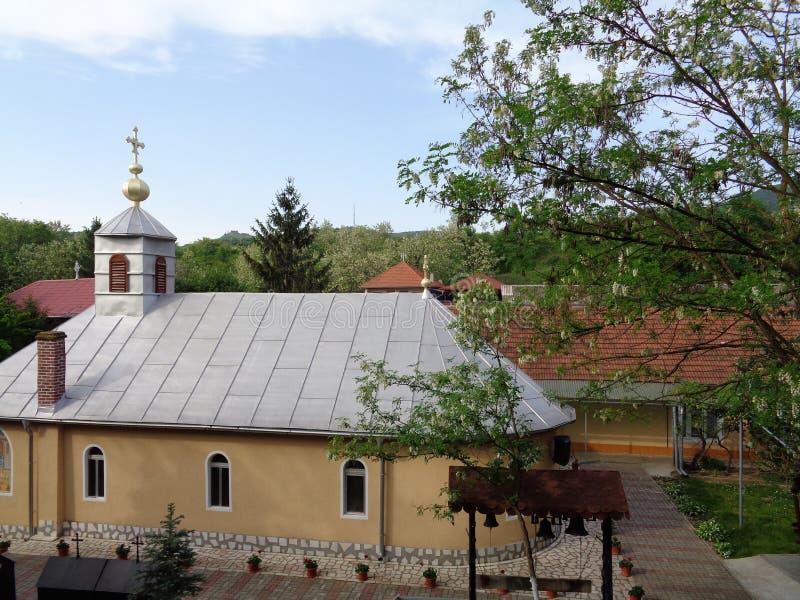 Feredeu monaster Arad okręg administracyjny, Rumunia fotografia stock