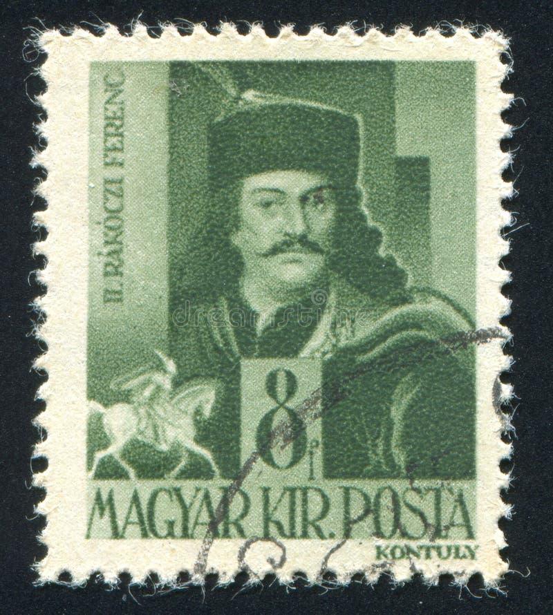 Ferenc II Rakoczi stockfotos