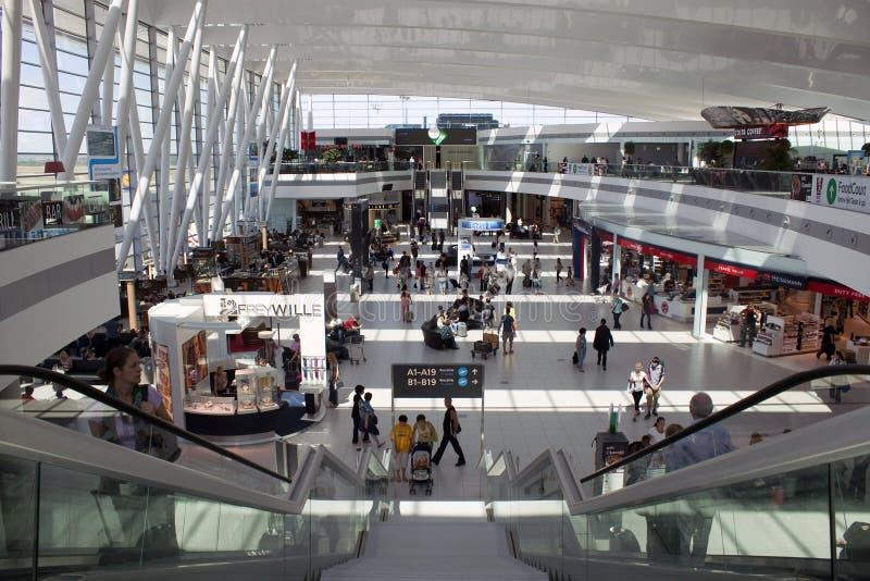 Ferenc Liszt International Airport Budapest arkivfoton