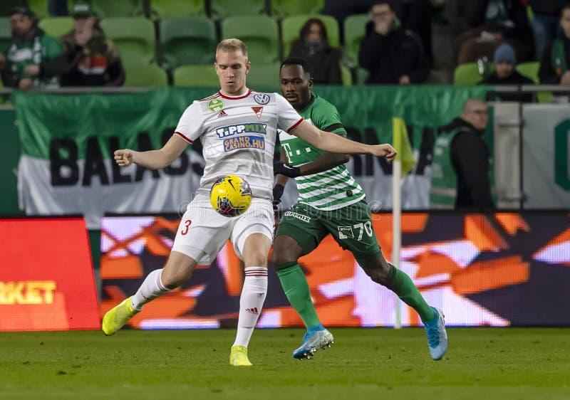 Ferencvarosi TC v DVSC - OTP Bank Liga 2-0 stock images
