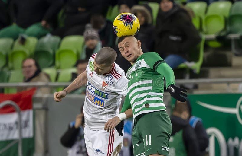 Ferencvarosi TC v DVSC - OTP Bank Liga 2-0 royalty free stock photo