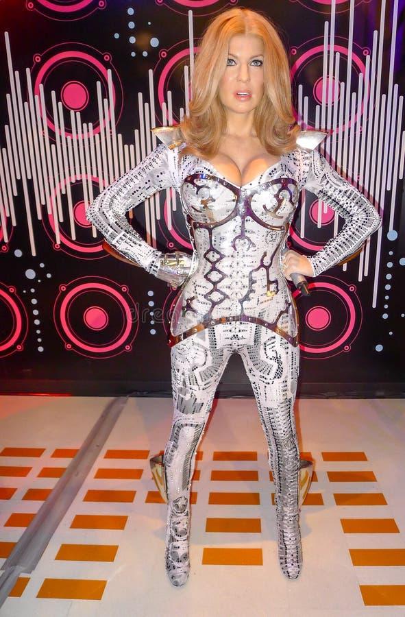 Fergie of Stacy Ann Ferguson stock afbeeldingen