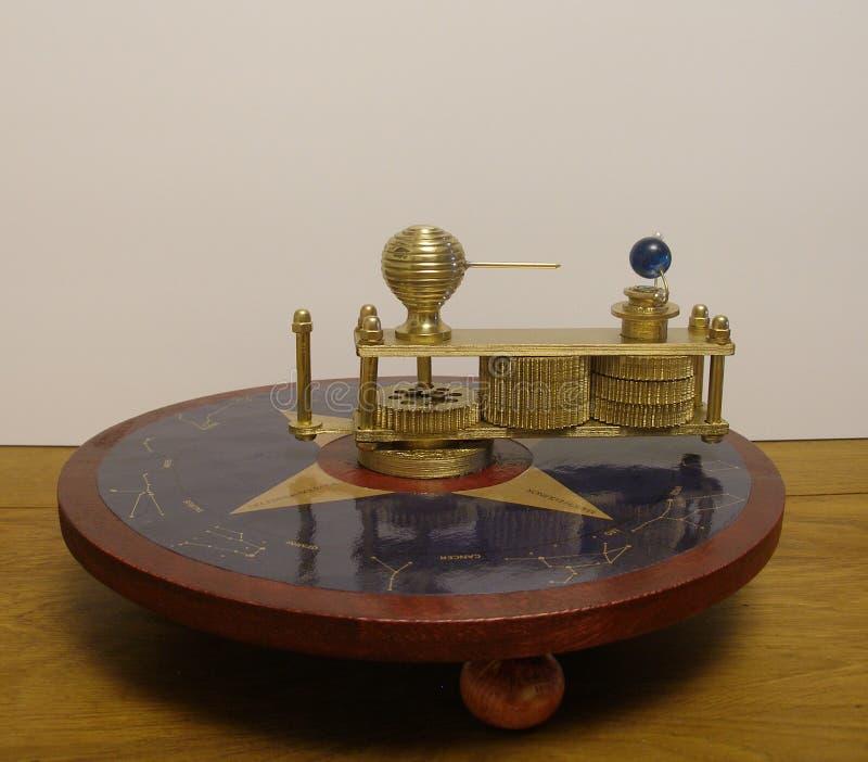 Fergusons Paradox Machine 1764 modell arkivfoto
