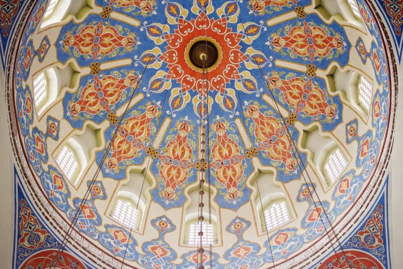Ferhat Pasha meczetu wn?trze obrazy royalty free