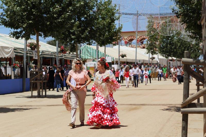 Feria in Cordoba, Spanje stock fotografie