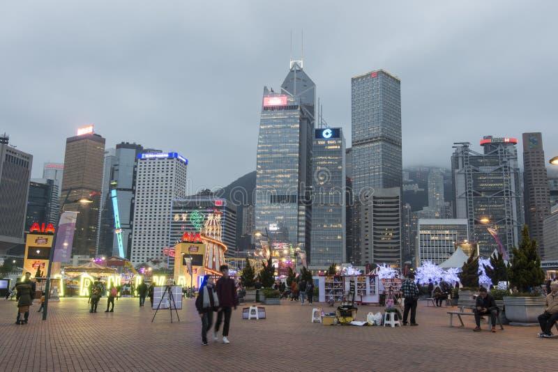 Feria de diversión en Hong Kong fotos de archivo libres de regalías