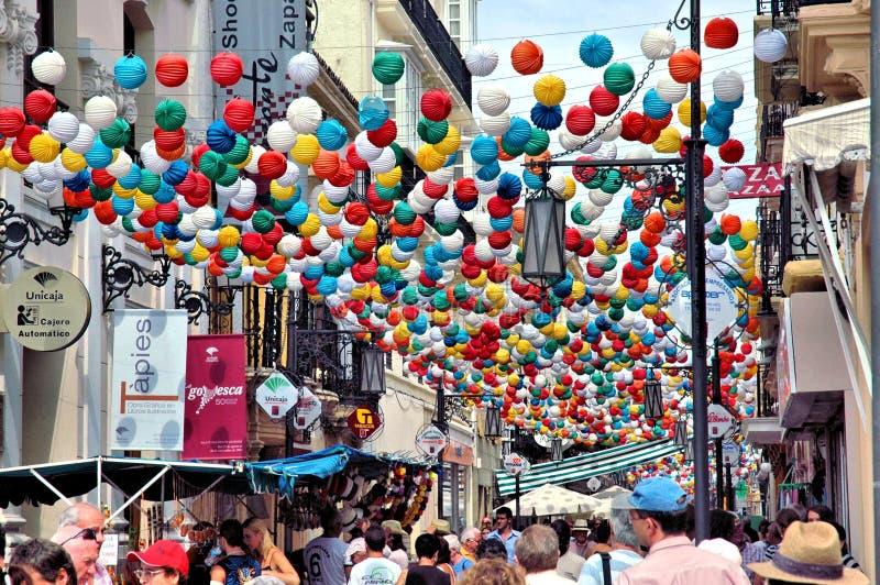 Feria de Pedro Romero, Ronda - España fotografía de archivo libre de regalías