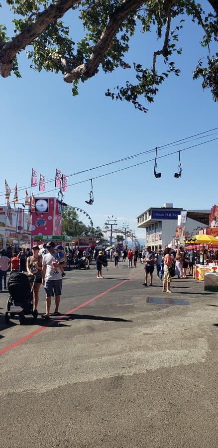 Feria del condado de LA imágenes de archivo libres de regalías