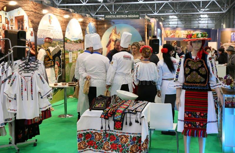 Feria nacional del turismo de Rumania, 2018 fotografía de archivo