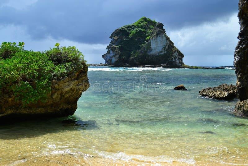 Feriado bonito na ilha de Saipan A ilha bonita de Saipan imagens de stock royalty free