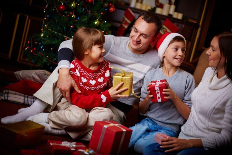 Feriado da família fotos de stock royalty free