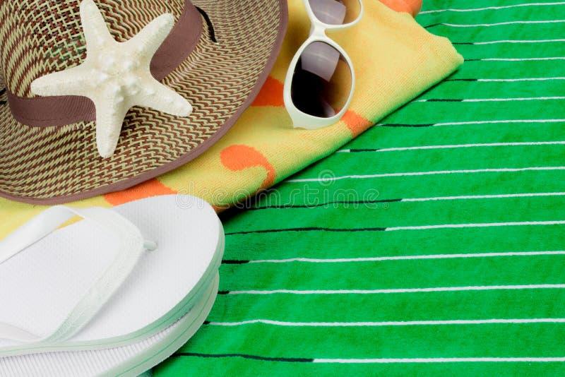 Feriado da praia do verão imagem de stock