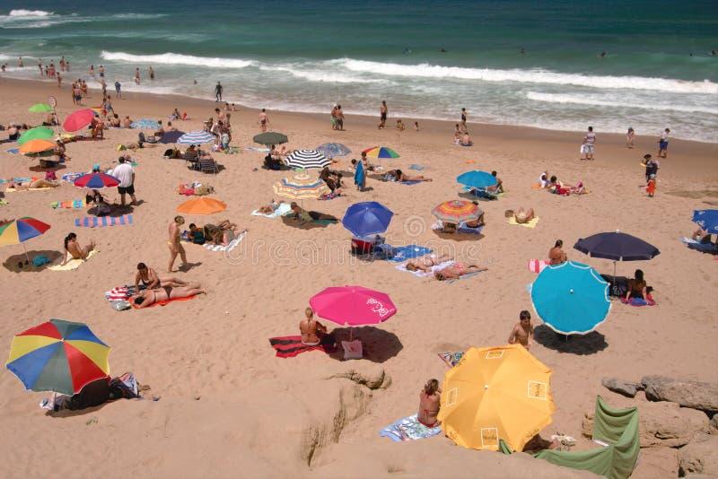 Feriado da praia, Portugal imagem de stock royalty free