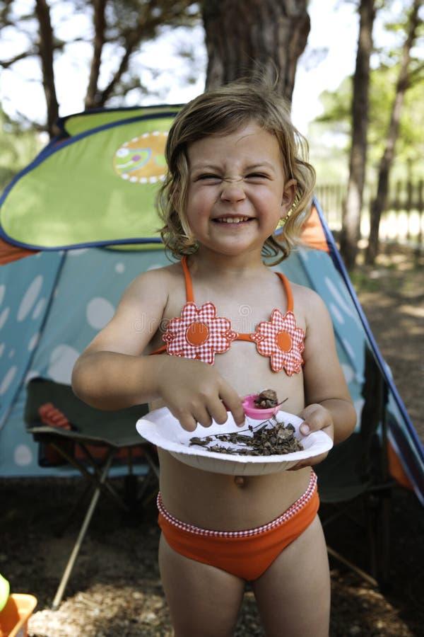 Feriado de acampamento fotografia de stock royalty free