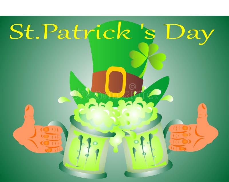 Feriado do dia do ` s de St Patrick ilustração do vetor