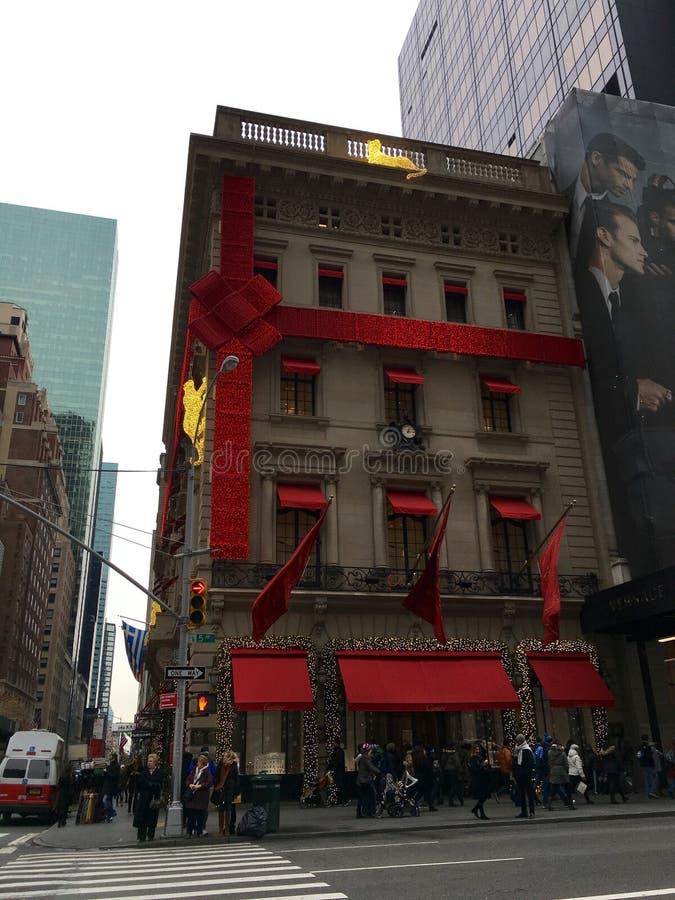 Feriado em NYC fotografia de stock royalty free
