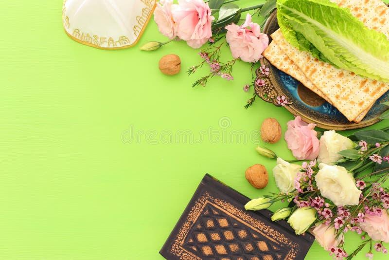 Feriado judaico da páscoa judaica do conceito da celebração de Pesah imagem de stock royalty free