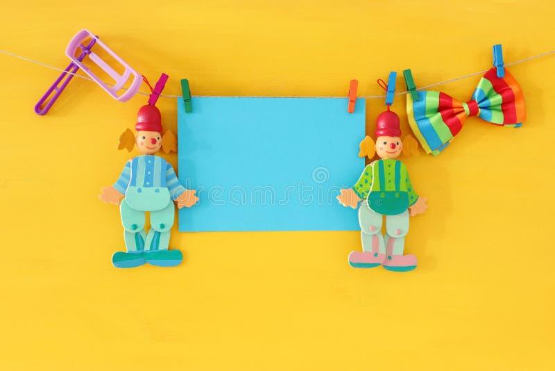 Feriado judaico do carnaval do conceito da celebração de Purim imagem de stock royalty free
