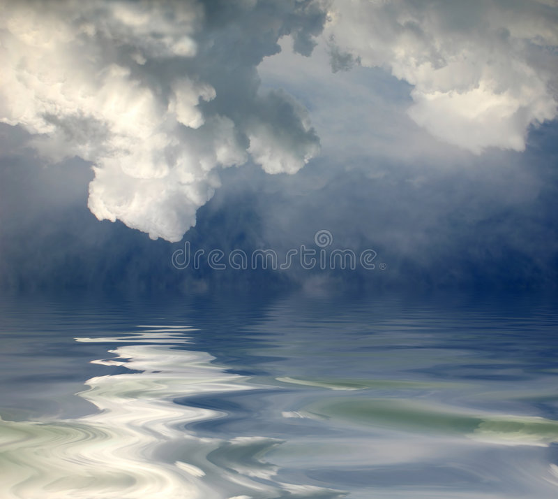 Feriado no mar imagens de stock royalty free