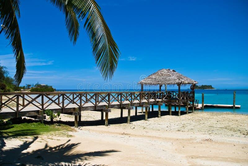 Feriado tropical imagens de stock