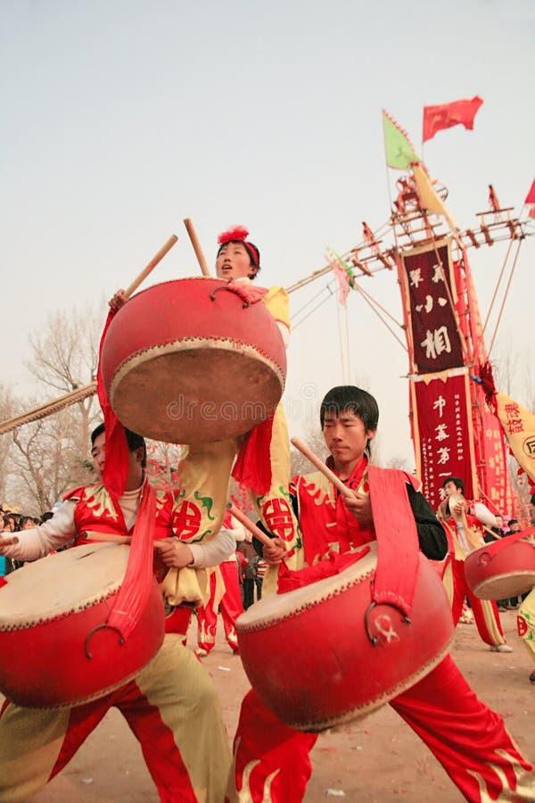 FERIAS del TEMPLO en China imagen de archivo