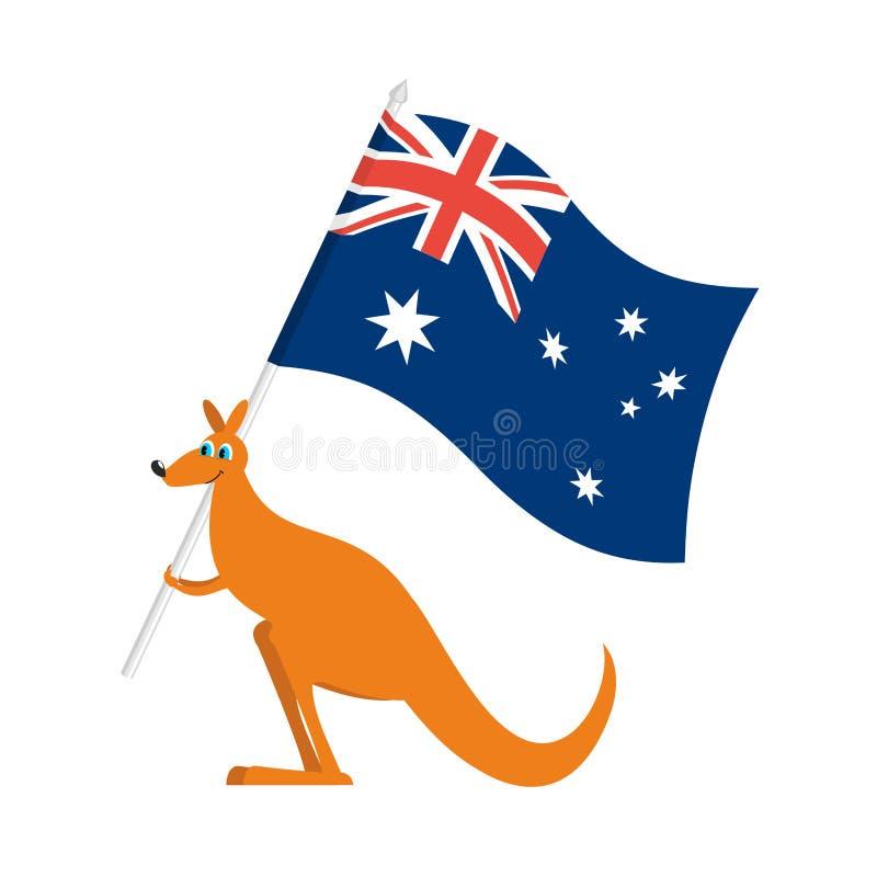 Poster Vector, kangourou
