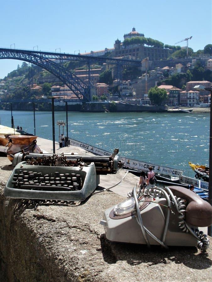 Ferie i Porto arkivfoto