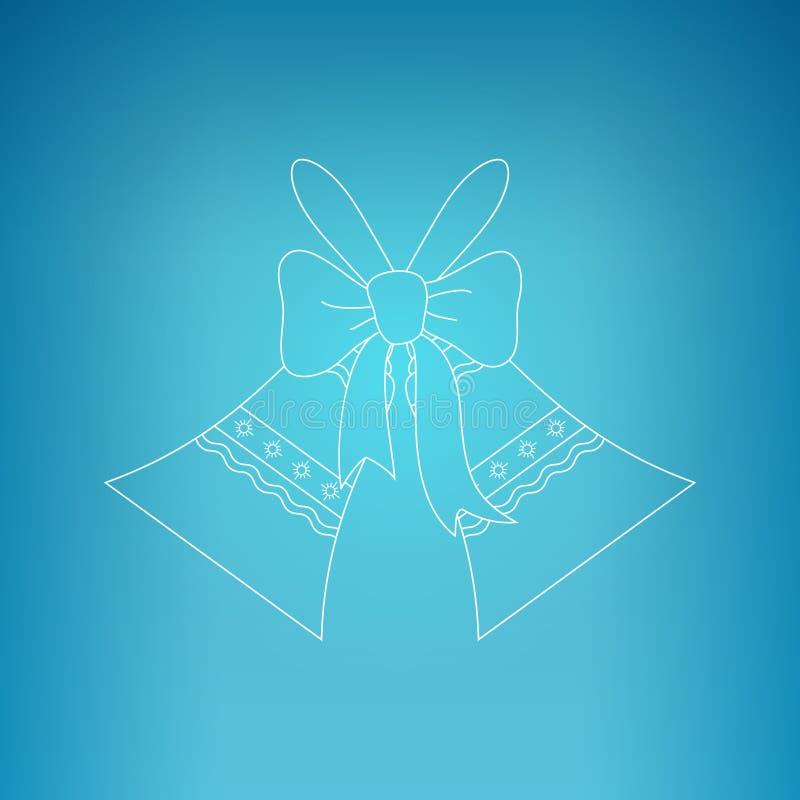 Ferie Jingle Bells royaltyfri illustrationer