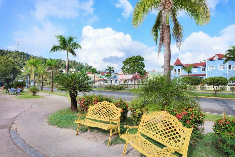 Ferien in der Dominikanischen Republik lizenzfreie stockfotografie