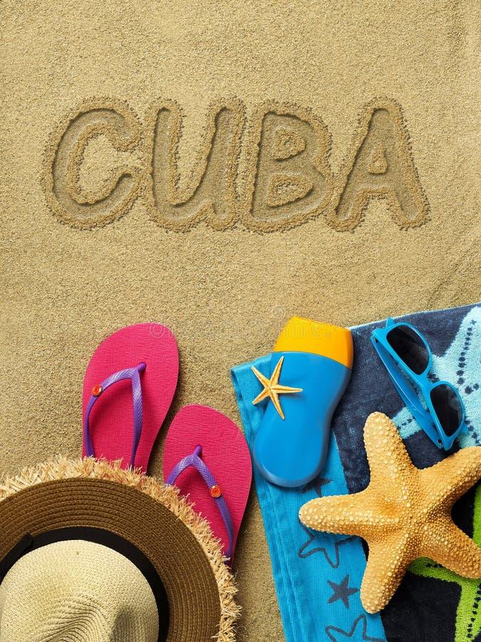 Ferien in Kuba lizenzfreies stockfoto