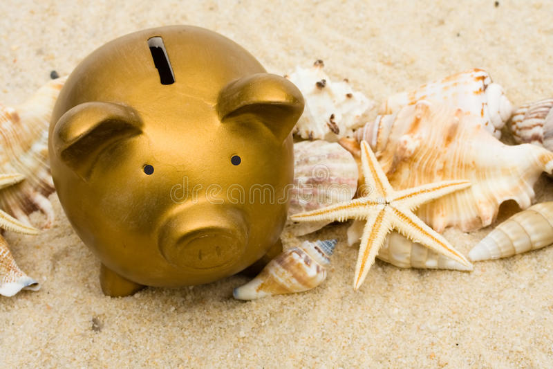 Ferien-Sparungen lizenzfreie stockbilder
