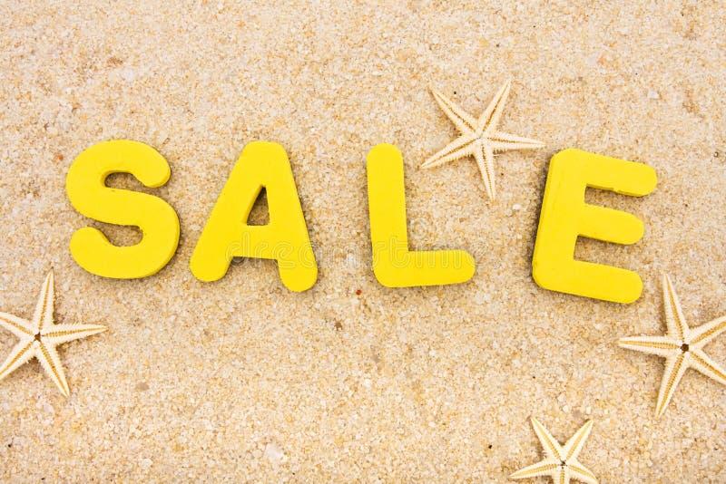 Ferien-Verkauf stockbild